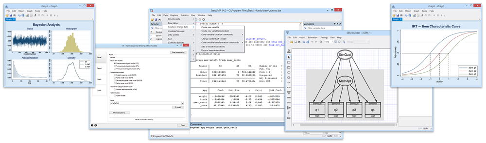 Stata - Features